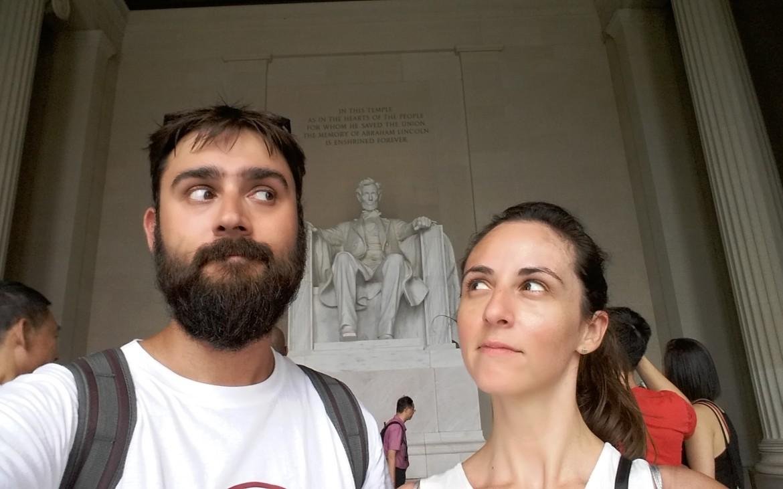 Lincoln Memorial en Washington DC