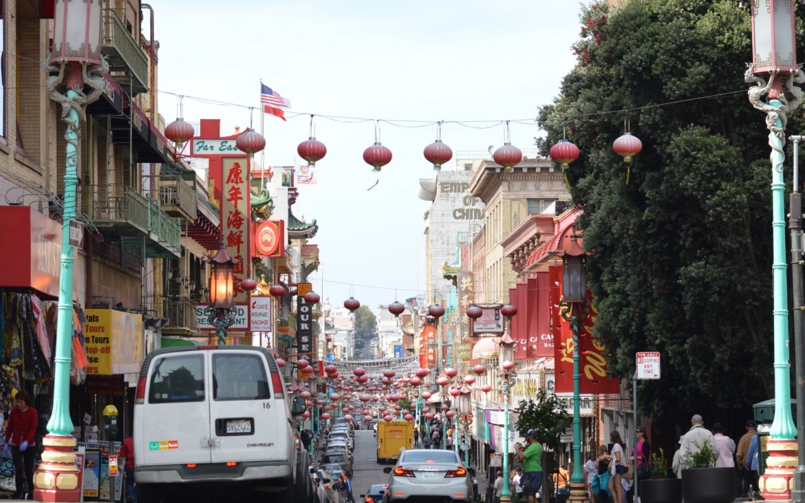 chinatown san francisco calle