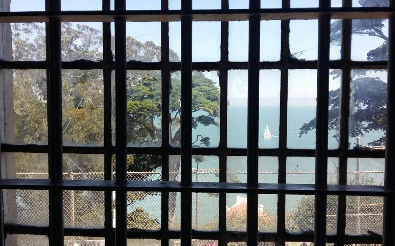 Lo que veían los presos por las ventanas