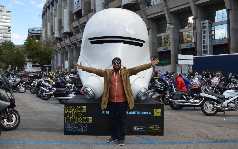 Face the Force Madrid Santiago Bernabeu