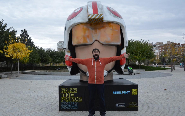 Face the Force Madrid Plaza de España