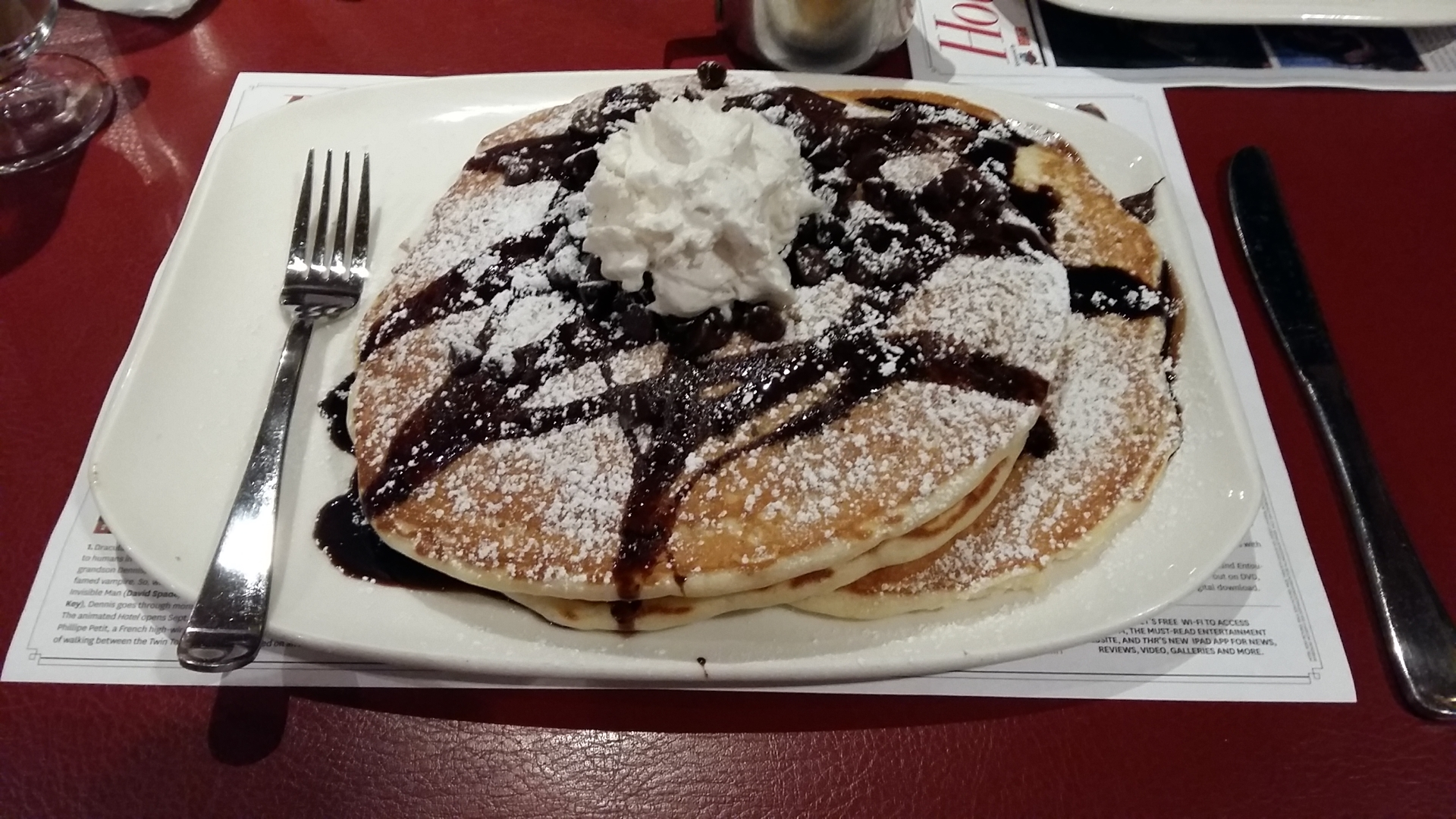 pancakes planet hollywood las vegas