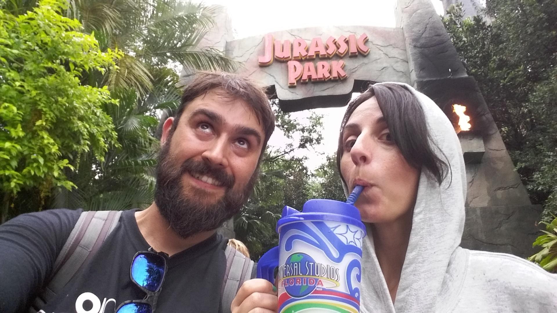 jurassik park door universal orlando