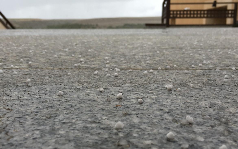 nieve y granizo en segovia