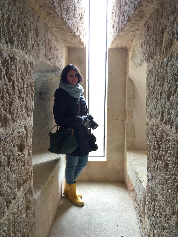 torre del campanario en Segovia