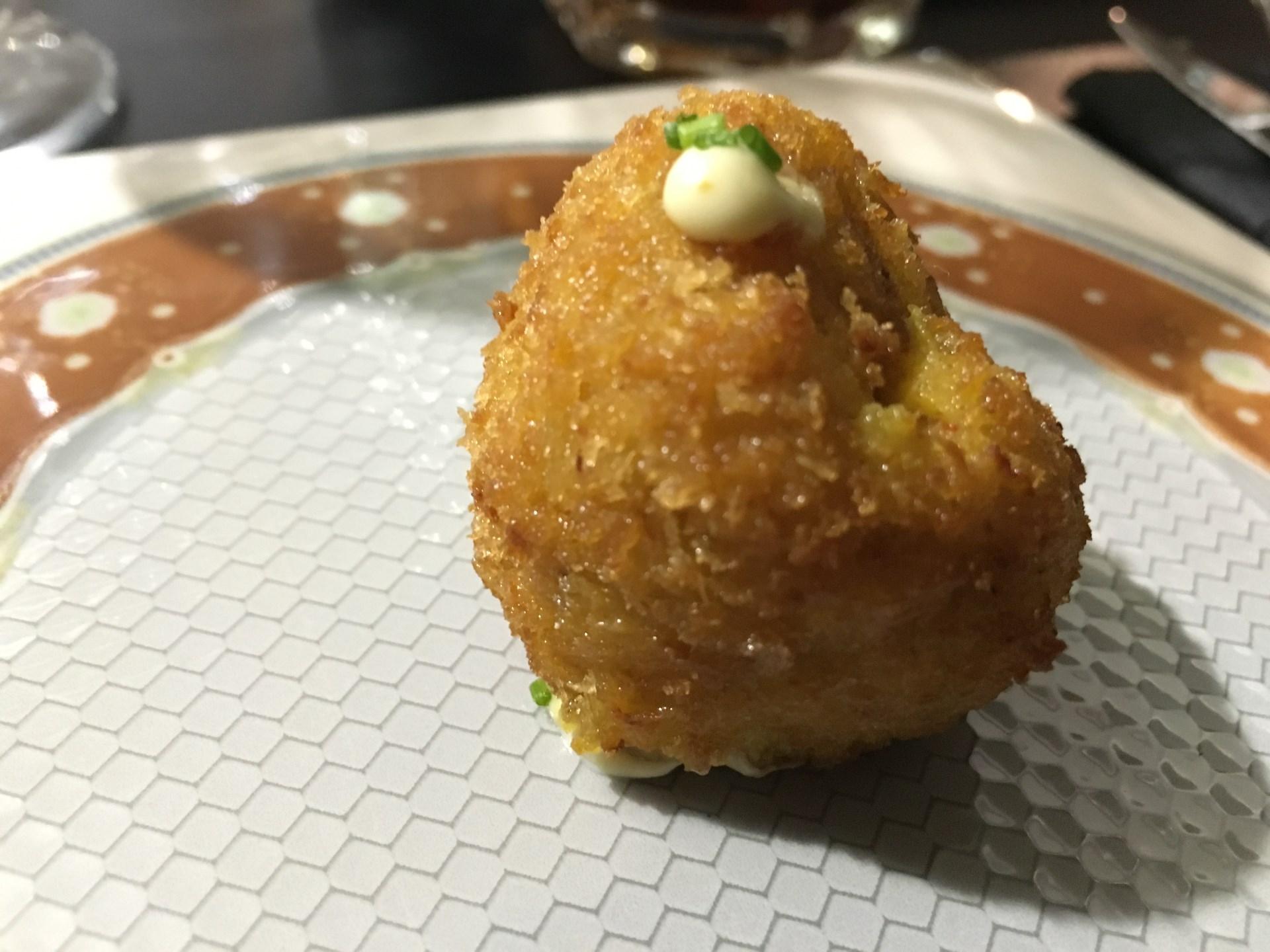croqueta pollo y curry doña petrona
