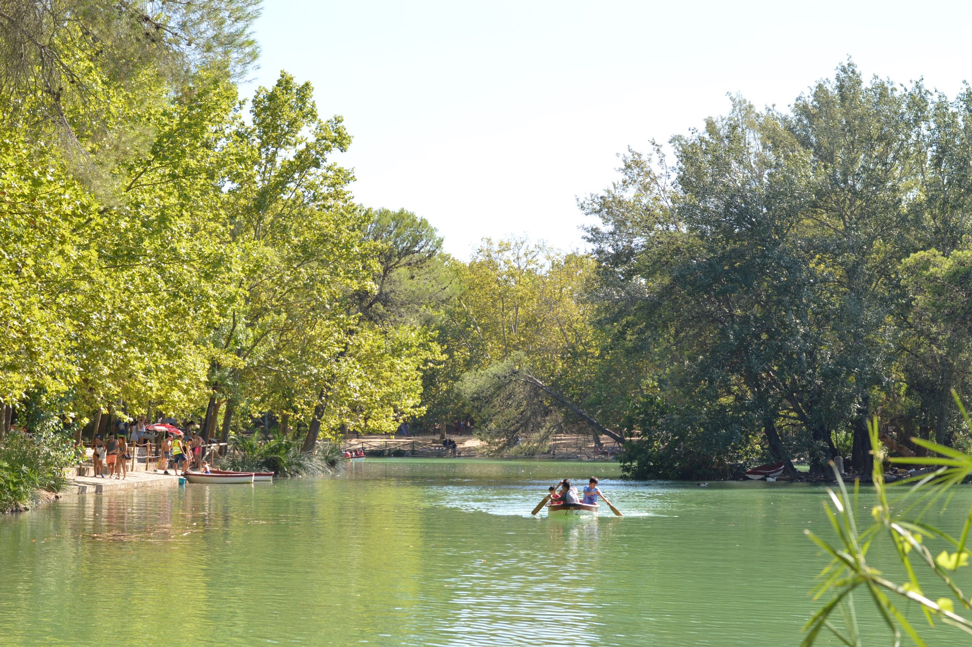 albufera de anna lago lago barcas