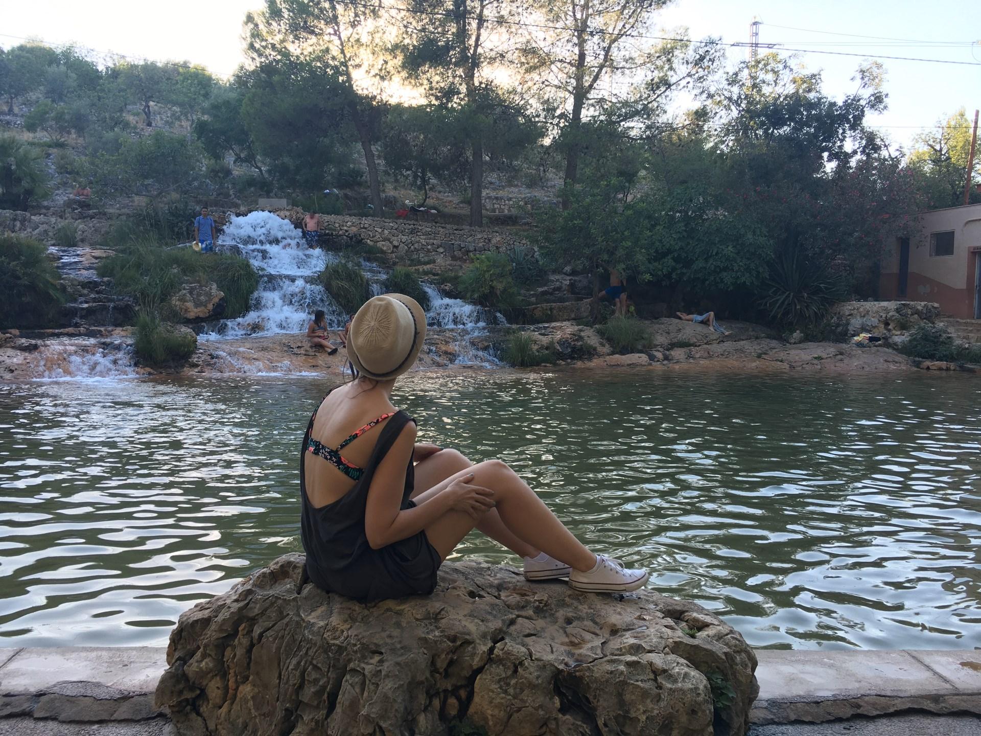 albufera de anna lago piscina publica