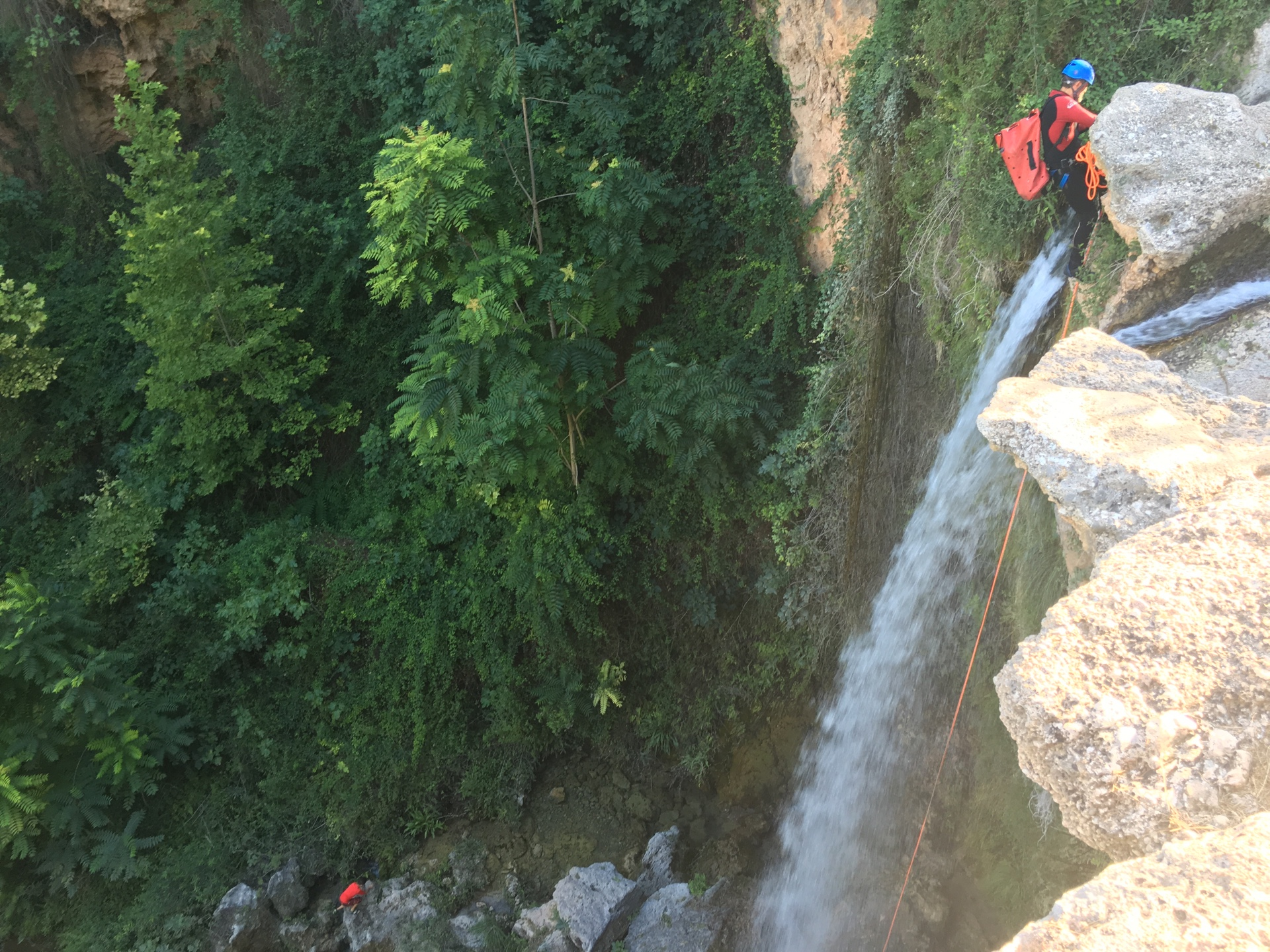gorgo de la escalera anna salto de agua