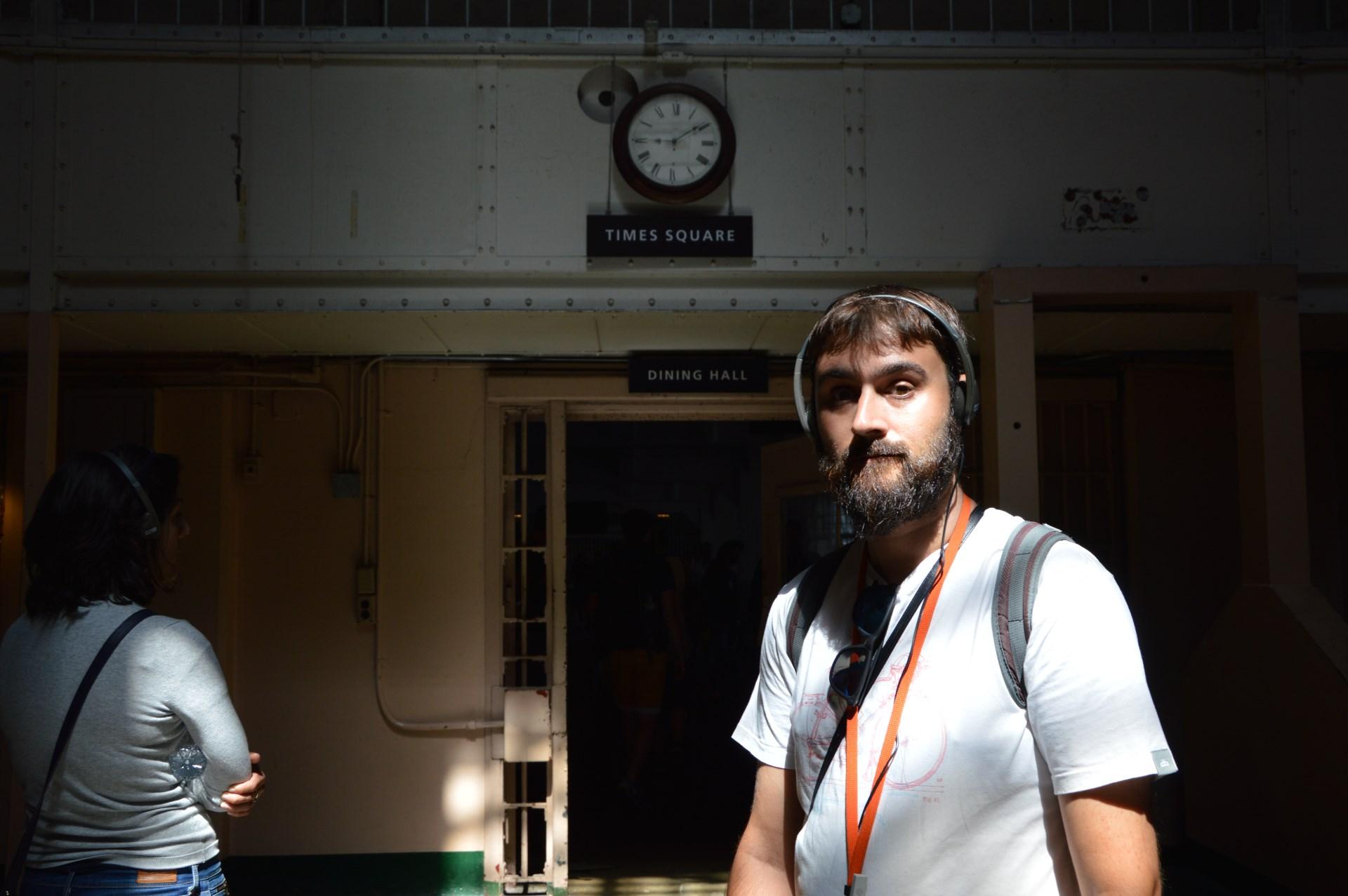 entrando a alcatraz