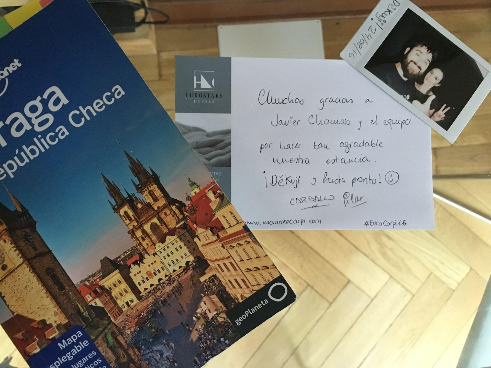 Despedida de Praga