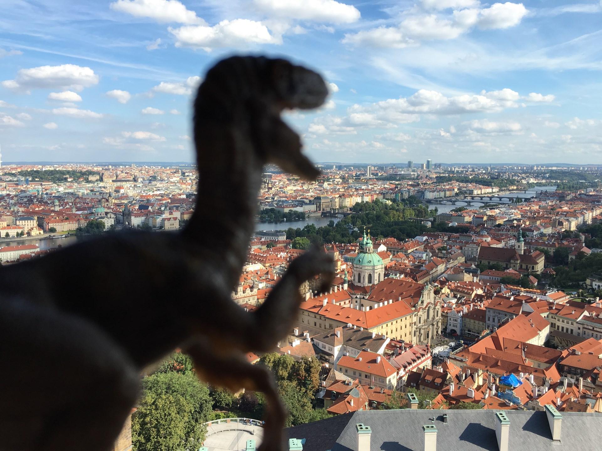 Velociraptor viendo Praga