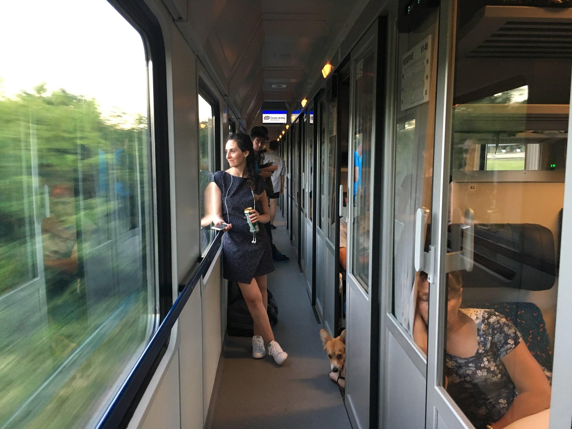 Tren Praga a Berlin