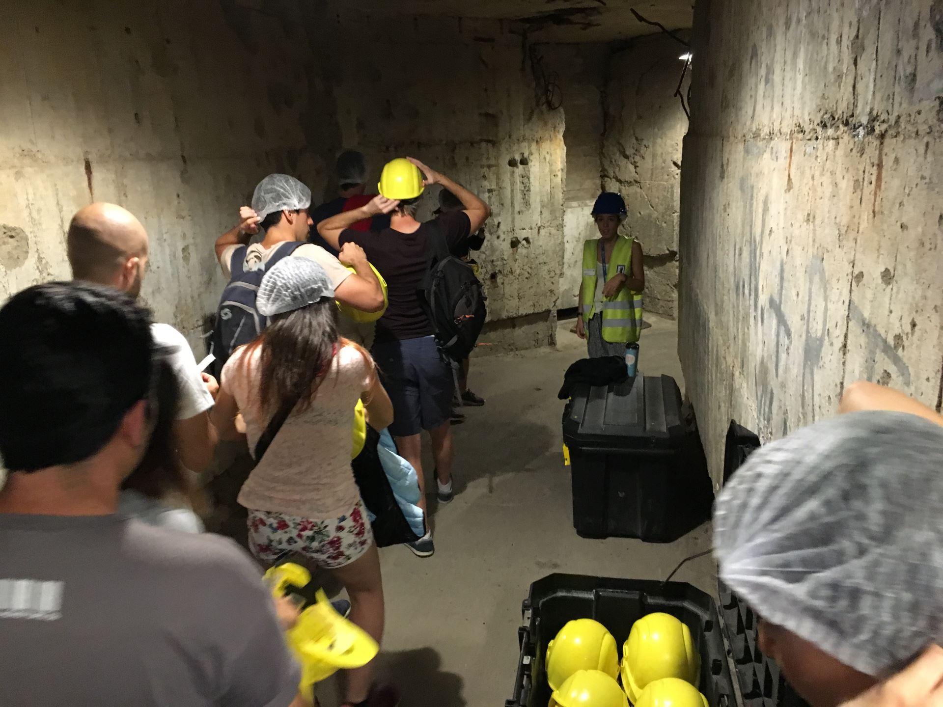 entrada al bunker antiareo de Berlin