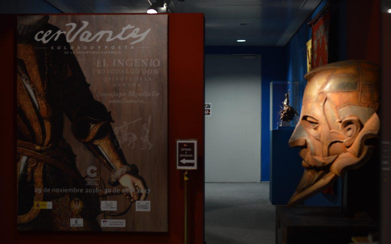 Exposicion de Cervantes en el Alcazar