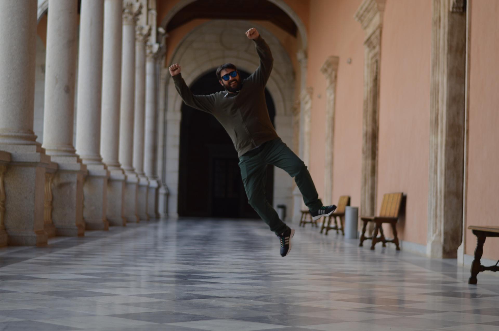 El famoso salto de Carballo