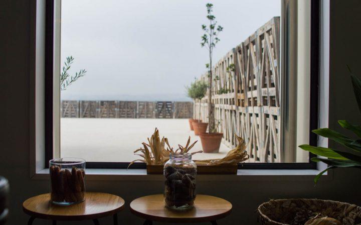 Hotel Aire de Bardenas ventana