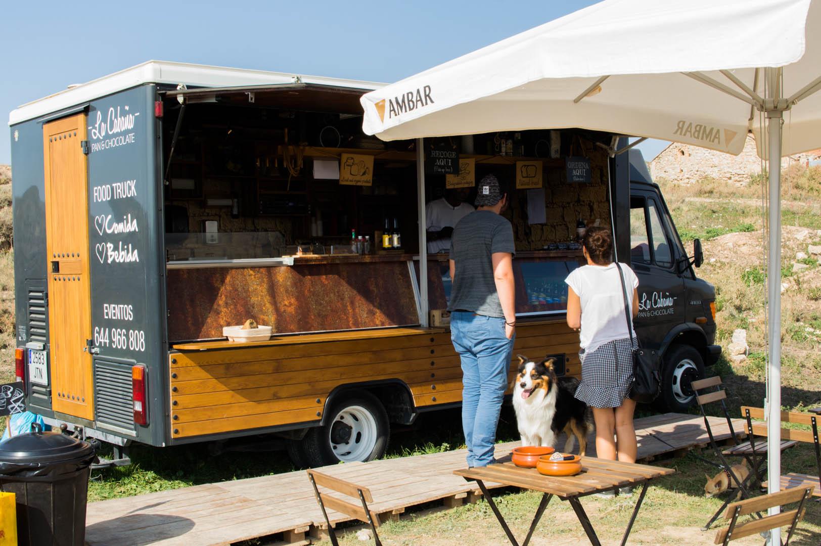 Food Truck La Cabaña en las Bardenas Reales