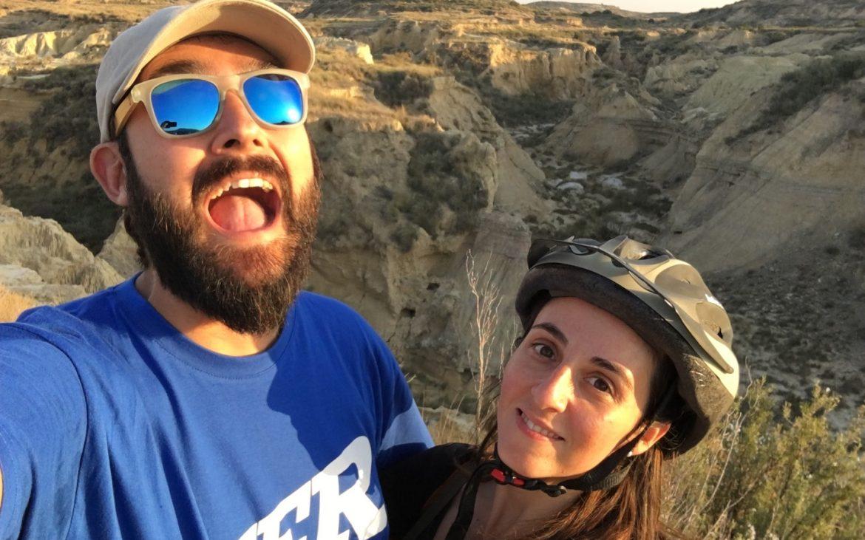 Barranco Grande en las Bardenas Reales