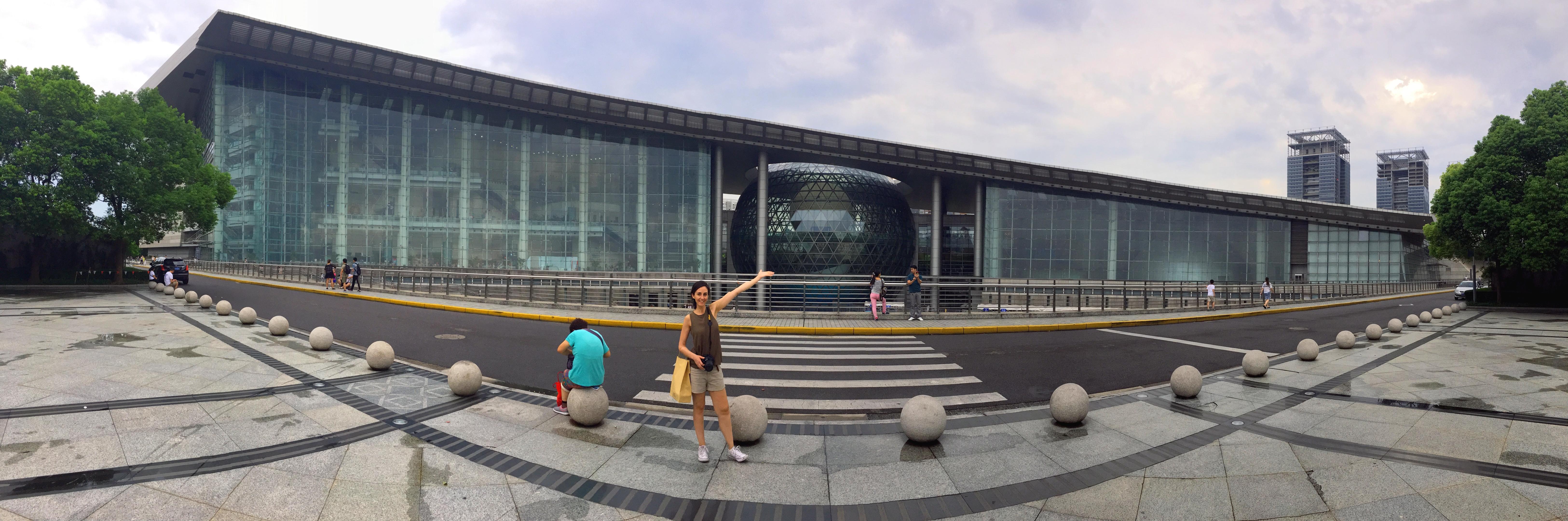 Museo de Ciencia y Tecnología de Shanghai en Pudong
