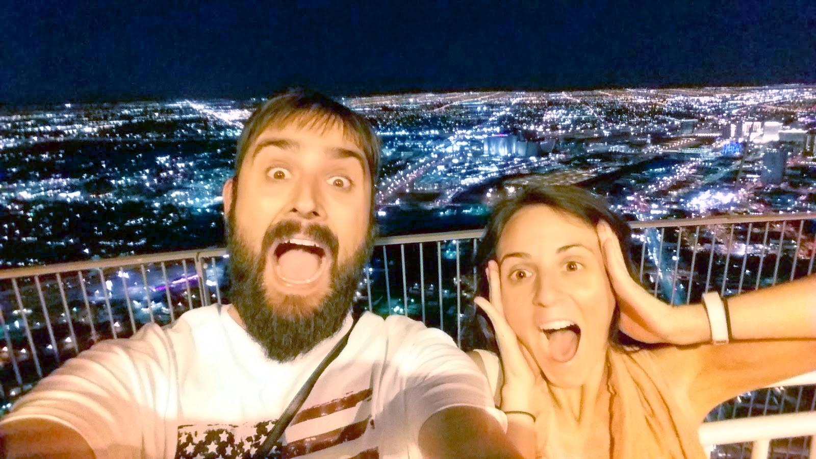 Arriba del Stratosphere en Las Vegas