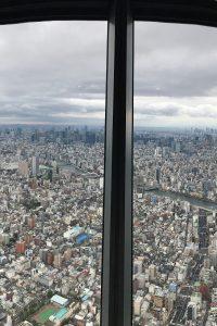 Vistas desde el Tokyo Skytree