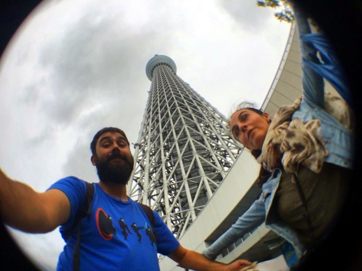 Tokio Skytree el segundo edificio más alto del mundo