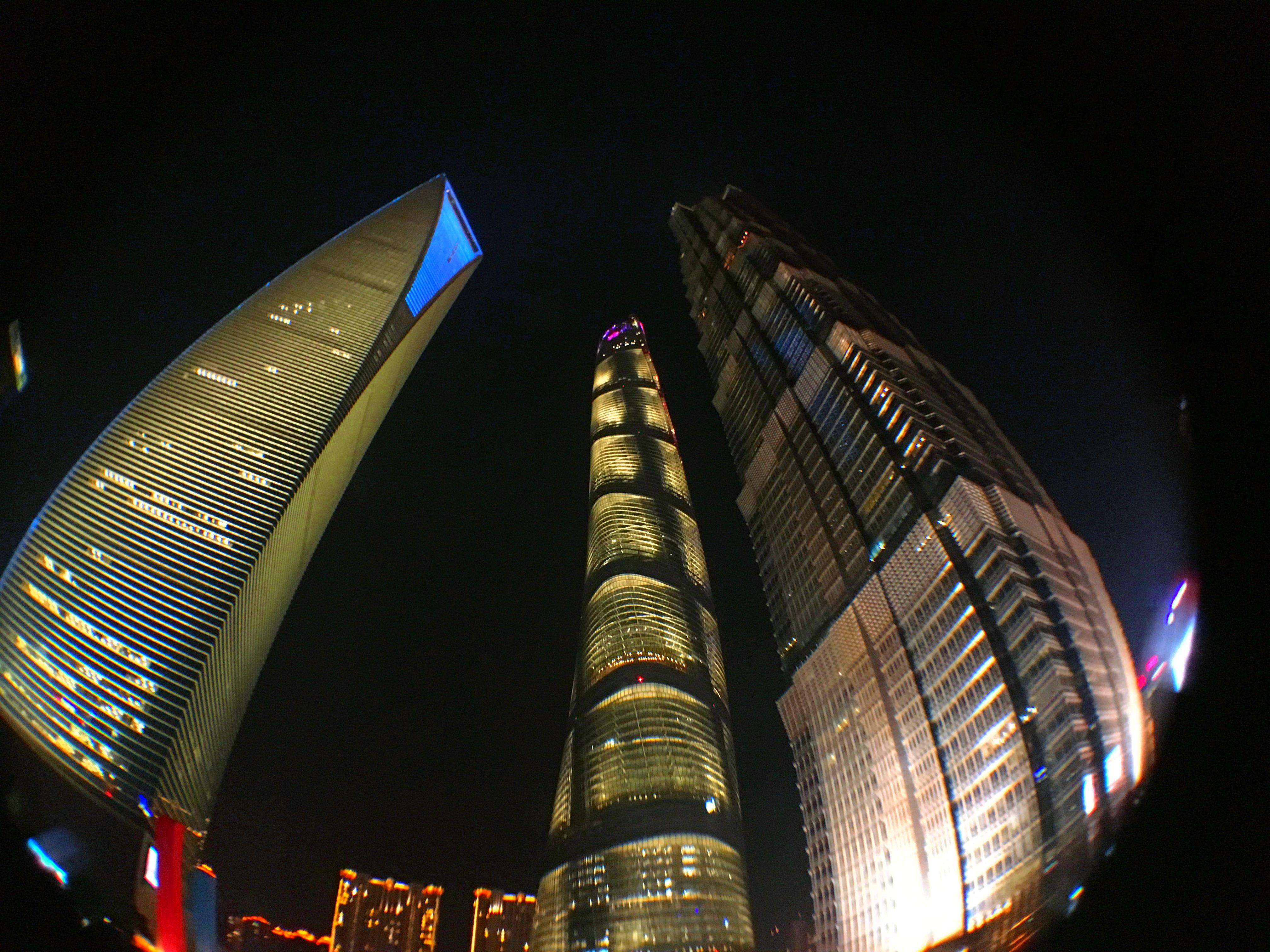 Tres Edificios Mas altos Shanghai