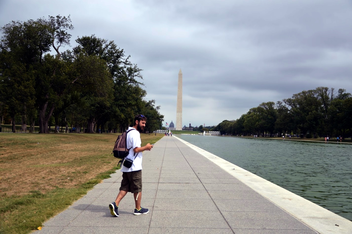 En el National Mall de Washington D.C.