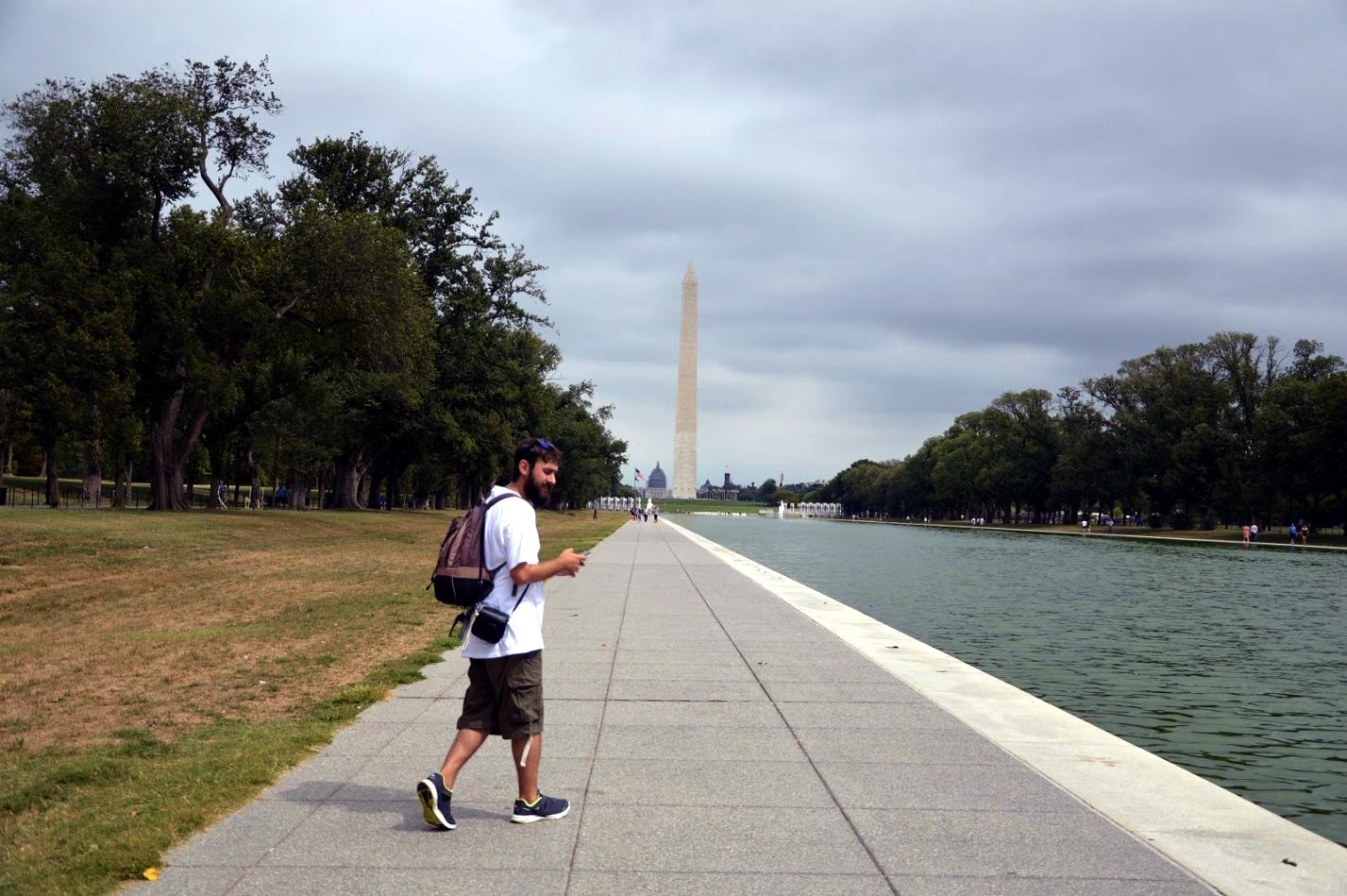 En el National Mall de Washington D.C.
