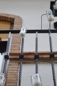 Balcones decorados en Utiel