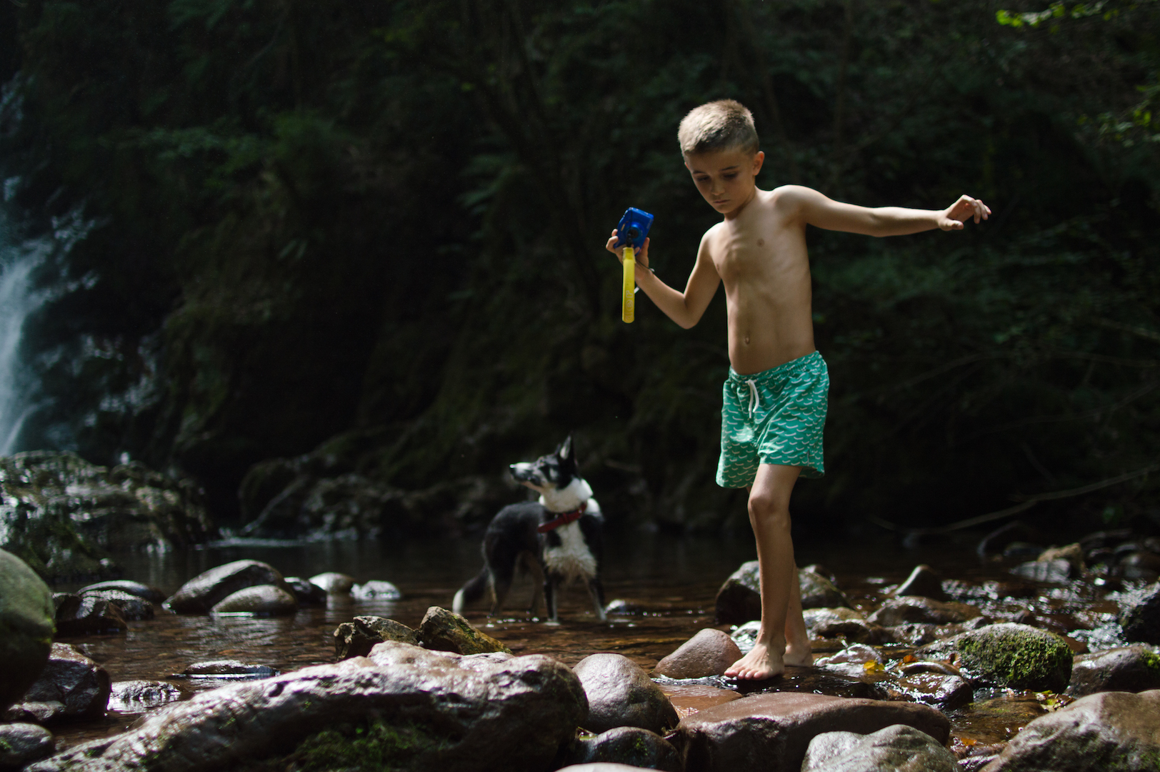 Naturaleza en Cascada Xorroxin