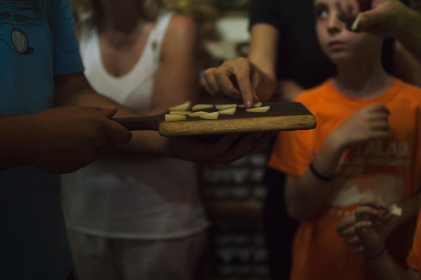 Cata de quesos en Quesería Kortariko Gasna