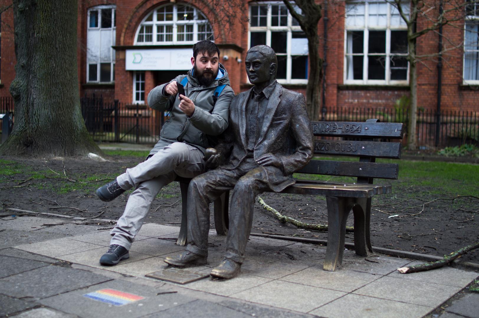 Alan Turing en  Manchester