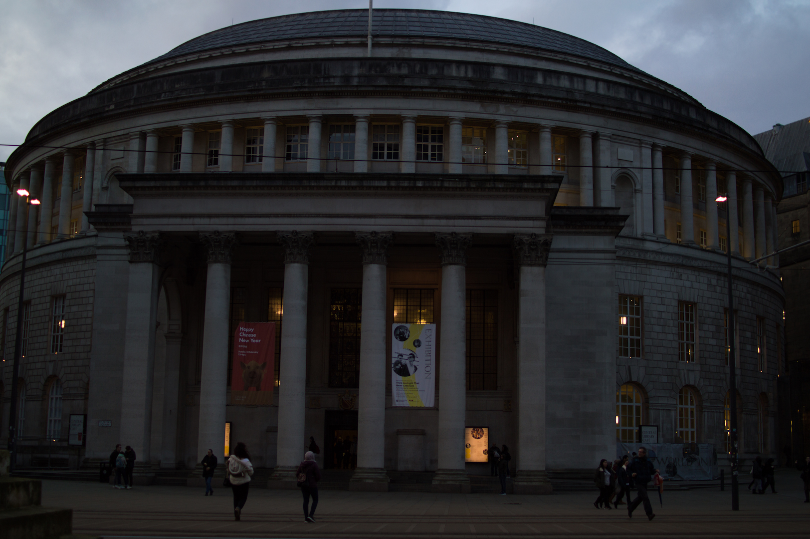 Biblioteca Central Manchester