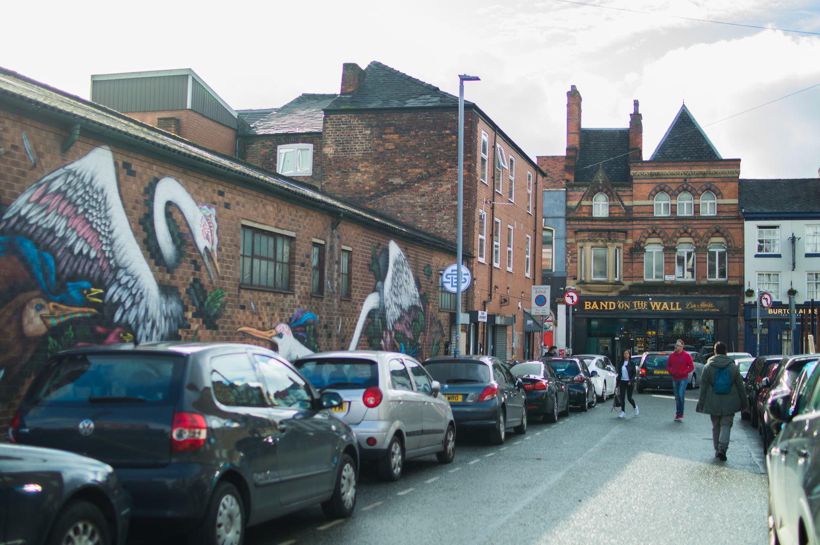 Grafittis en Manchester