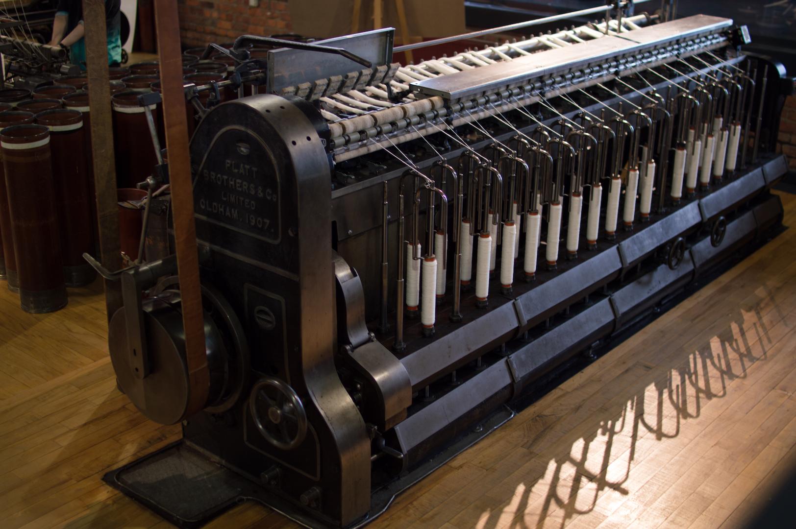 Máquina de Tejer en Manchester