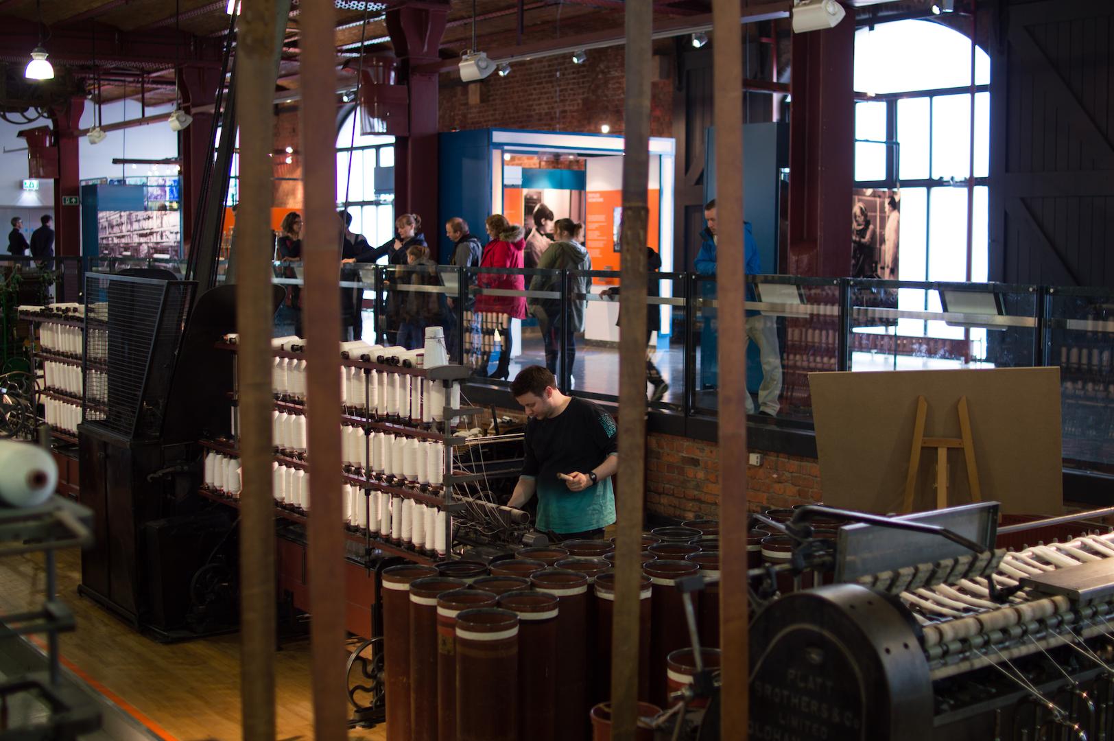Museo de Ciencia e Industria en Manchester
