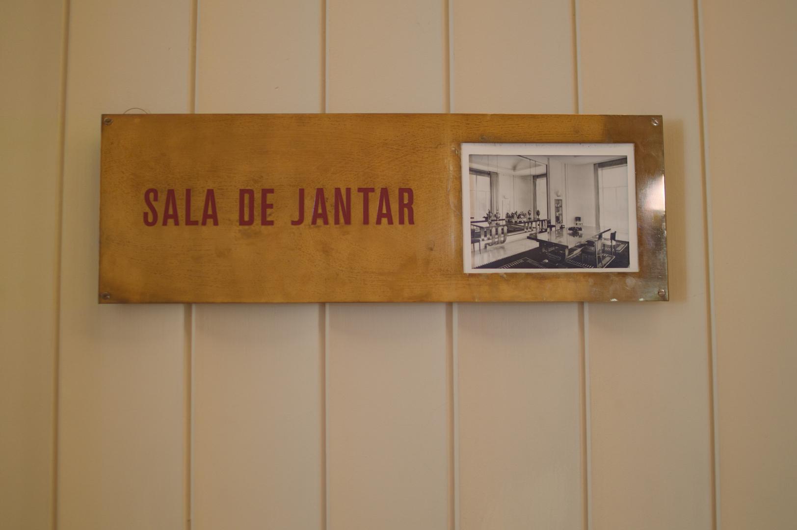 Sala de Jantar Casa Serralves